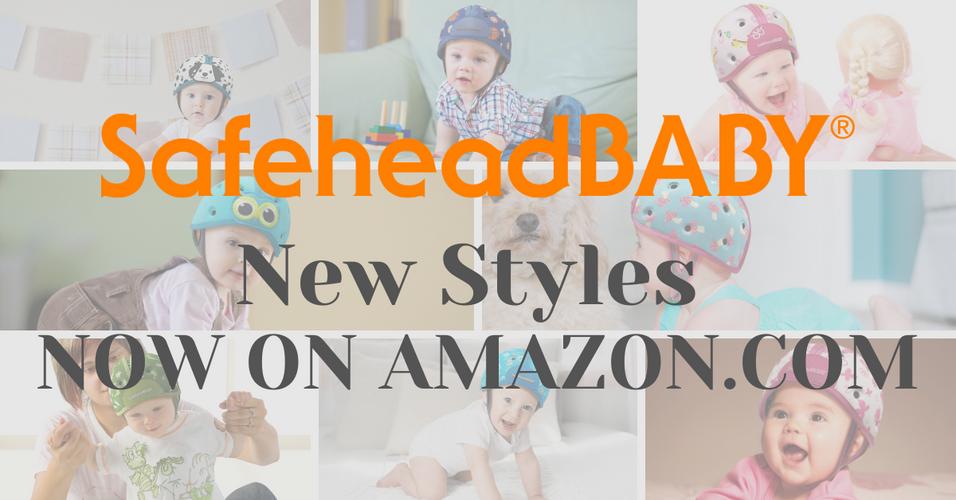 SafeheadBABY NEW Styles Now Available on Amazon.com