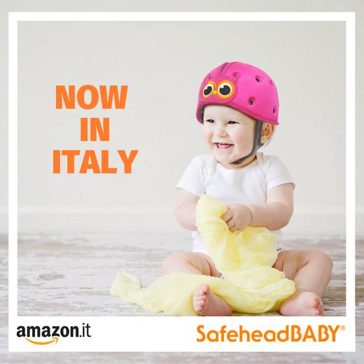 SafeheadBABY Now available on Amazon Italy