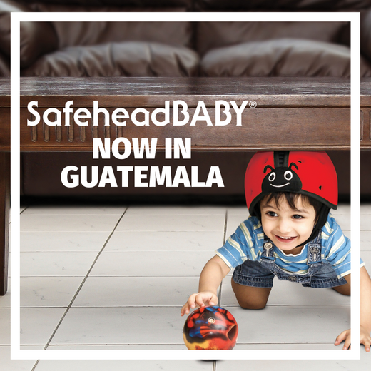 SafeheadBABY Now available in Guatemala