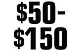 $50-150