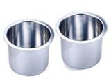 Aluminum Jumbo Cup Holders - Pair