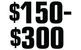 $150-$300