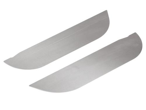 JK Aluminum Door Accent Plates - Rear