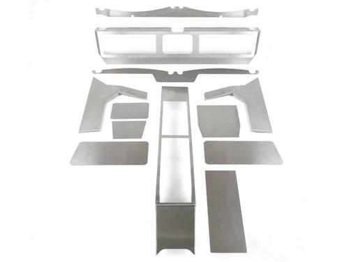 Jeep JK Aluminum Dash & Center Console Kit
