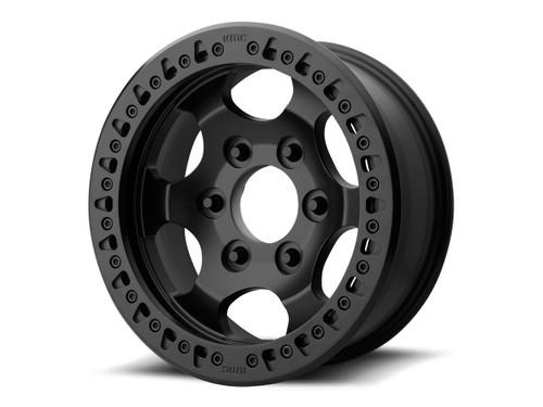 """KMC XD231 Race 17"""" Wheel (Black)"""