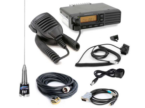 Rugged Radios Car to Car Kit with PTT - VHF Motorola VX2200 50 Watt