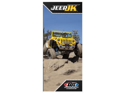 GenRight Jeep JK Trifold Brochure (Qty of 250)