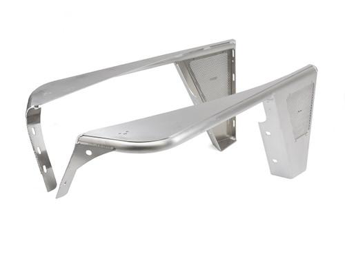 """TJ/LJ 0"""" Flare Front FLAT Hi-Fenders - Aluminum"""
