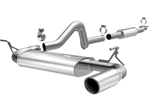 Magnaflow MF Series Performance Exhaust System ('12-18 Jeep JK)