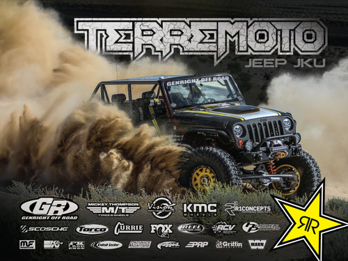 "Terremoto KOH 2020 18"" X 24"" Poster"