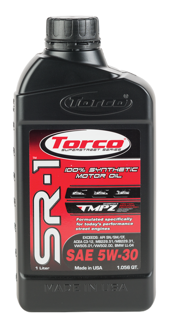 Torco SR-1r 5W-30 Synthetic Engine Oil