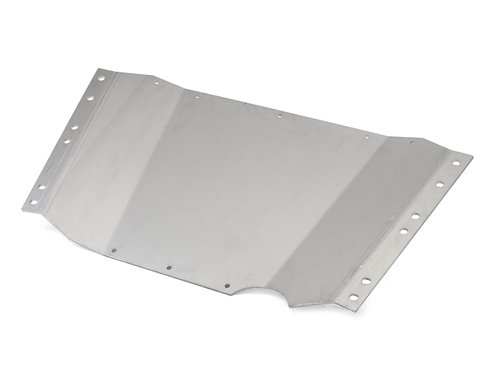 Gain a massive amount of ground clearance with this belly up skid plate