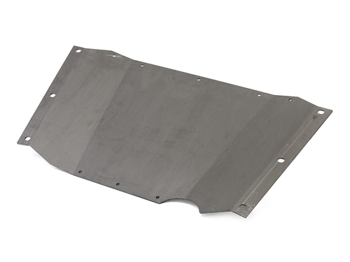 Steel belly up skid plate for the Jeep Wrangler TJ or LJ