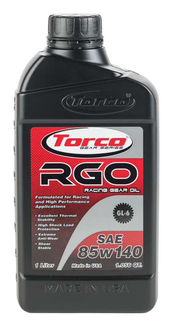 Torco Synthetic 85W-140 gear lube