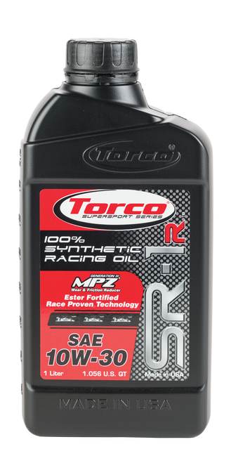 Torco SR-1 10W-30 Synthetic Engine Oil