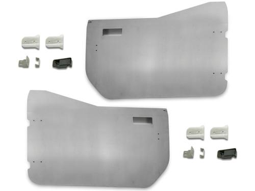Jeep JL & JT Aluminum Half Door Package (Front Pair)