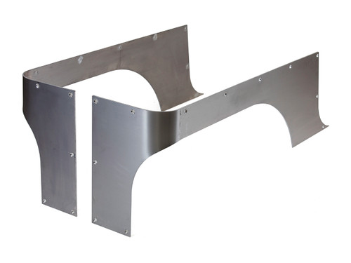 GenRight's COMP Cut Corner Guards for the Jeep TJ, YJ or CJ in Steel