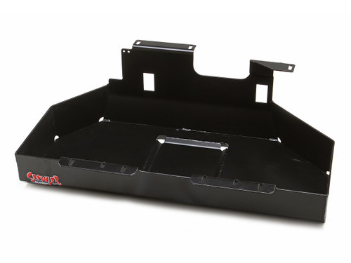 Gas tank skid plate for the Jeep Wrangler TJ or LJ