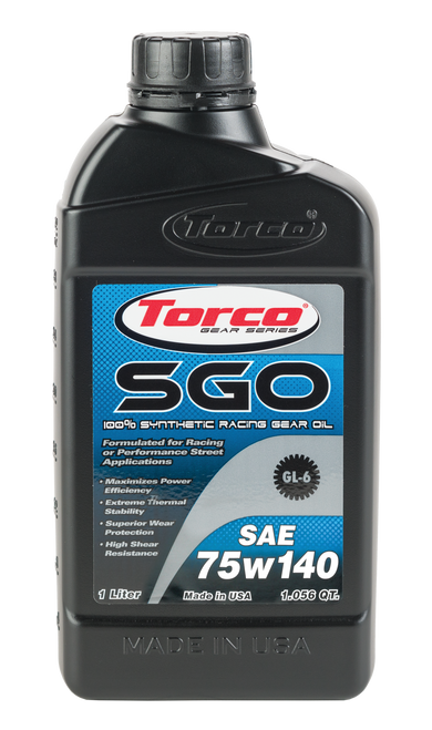 Torco 75W-140 synthetic gear lube