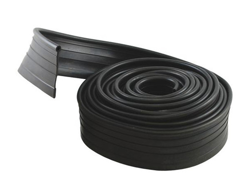 Rubber welting takes up the gap at the top of the rockers to prevent dirt & water
