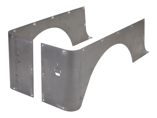 YJ Full Corner Guards (Stretch) - Steel