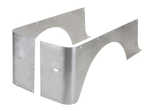 YJ Full Corner Guards (Stretch) - Aluminum