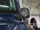 Jeep JK A-Pillar Light Mount Installed (shown with optional Optimus LED lights)