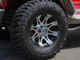 """Raptor wheel on Jeep Wrangler JK with 35"""" tires and 1-3/4"""" lift"""