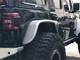 """Jeep JL 4"""" Flare Rear Tube Fenders (Rear View)"""