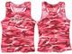 Women's Camo Blink Racerback Tanktop (Pink Camo)