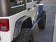 "Jeep JK 4"" Flare Rear Tube Fenders Powder Coated Black"