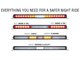 Vision X XPL Chaser Rear LED Light Bar Patterns
