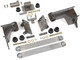 GenRight's LS Engine and 4L80 Transmission Mounting kit for the Jeep JK