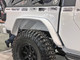 "Jeep Gladiator (JT) Rear Tube Fenders powder coated & shown w/40"" tire"