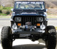 """""""Boulder"""" series fenders with zero flare for the Jeep YJ"""