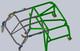 Soft top bracket kit for GR 2 dr cage