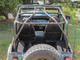 TJ Full Roll Cage Kit Shown with no optional bars