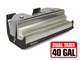 GST-8202-2 Jeep JK 20 Gal DUAL Gas Tank & Steel Skid Plate (40 Gal. total capacity)