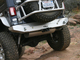 """GR Aluminum Jeep JK Rear Bumper can be used with factory 2"""" receiver hitch"""