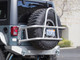 """37"""" tire in the RTC3810 - GenRight Swing Out Rear Tire Carrier - Aluminum"""
