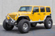 """GenRight Aluminum JK Flare Front Tube Fenders with 40"""" tires"""