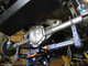 Rear Axle Bridge, Dana 60, installed in a Stretched Jeep