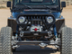 TJ & LJ  Winch/Grill Guard Front Bumper, powder coated black
