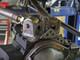 GenRight's Upper Rear Control Arm Mount on a Dynatrac axle bridge.