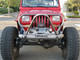 Jeep YJ Boulder/Grill Guard Front Bumper, installed