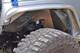 GenRight Aluminum Inner Fenders Installed on a Jeep JK