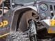 Jeep JK Aluminum Front Inner Fenders (2 or 4 Door) - Silver