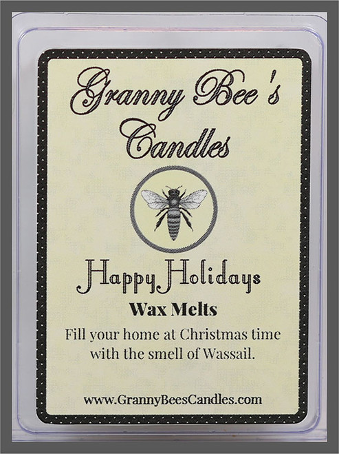 Happy Holidays Wax Melts