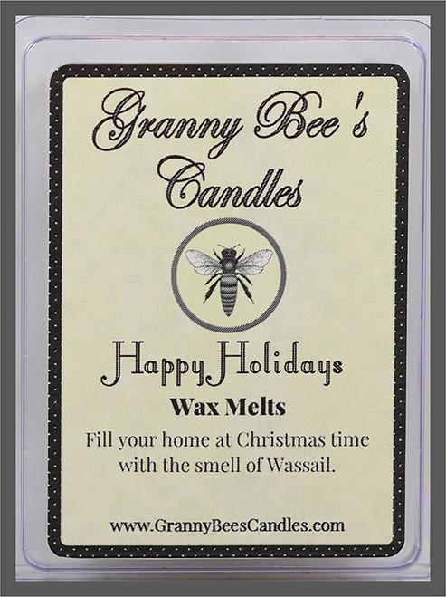 Happy Holidays Wax Melts