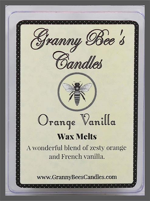 Orange Vanilla Wax Melts
